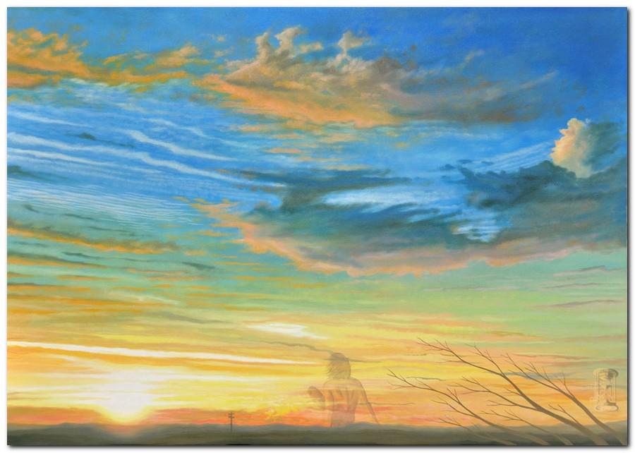 Silvano Poggiani: quadri moderni, dipinti con cieli e nuvole ...